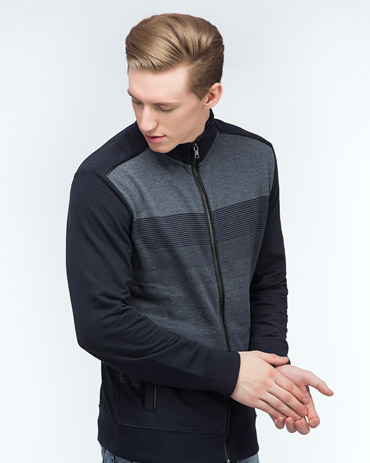 Engineered Striper Zipper Jacket