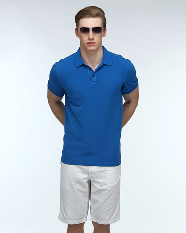 Overdyed Polo Tee